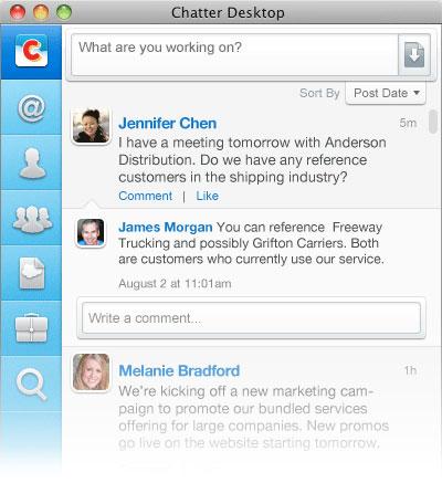 Chatter Desktop