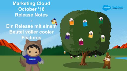 Marketing Cloud October Release 18