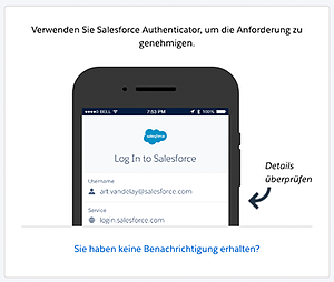 Salesfprce Authenticator App