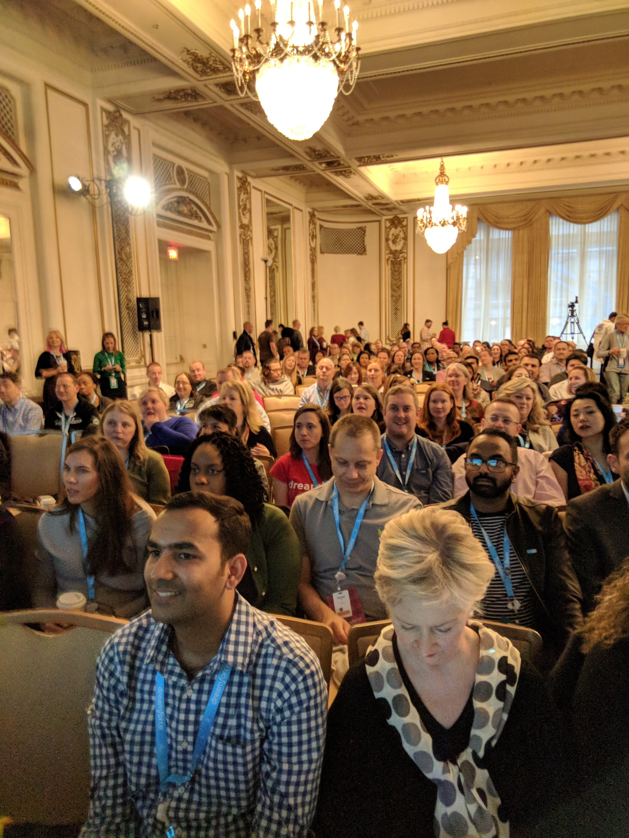 Community Empfang: State of the Union - Dreamforce 2017