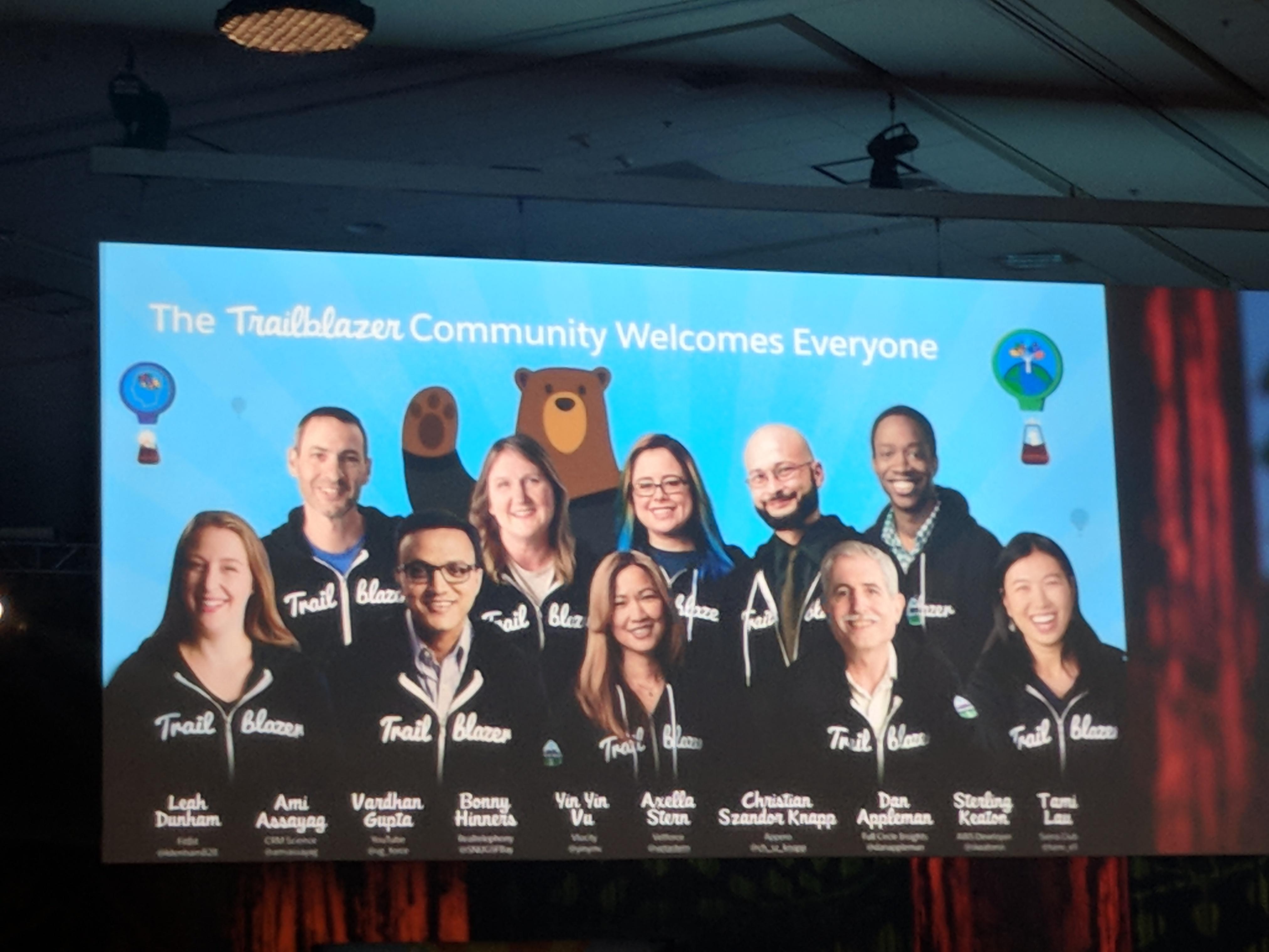 Salesforce Trailblazer Community Dreamforce 2017