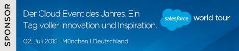 Der Cloud Event des Jahres - Salesforce World Tour